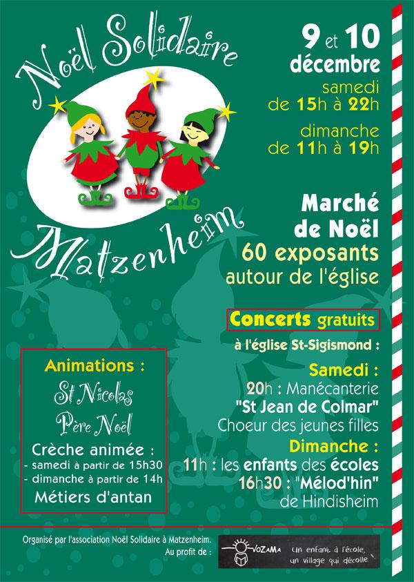 Marché de Noël Matzenheim-Edition 2017